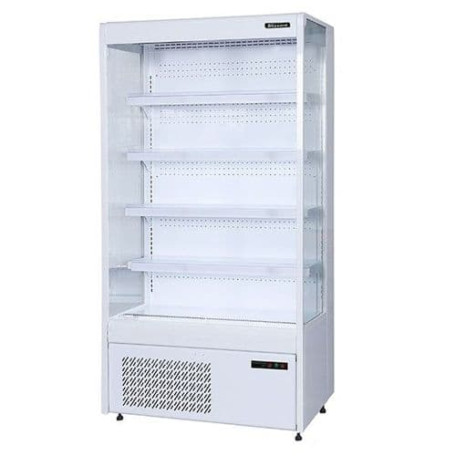 Blizzard Slim Tiered Display 1000mm Wide - BTD100WH